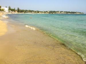 Beautiful beach in Sicily.