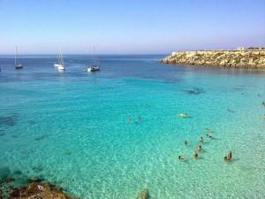 The best beach in Sicily.