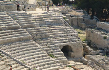 Siracusa Ruins in Sicily