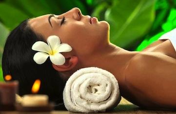 Spa treatments in Tenerife on a luxury yoga retreat.