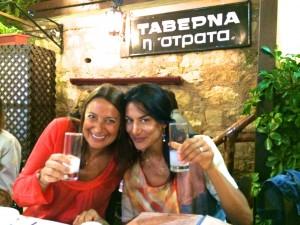 Strata taverna, Chania, Crete.