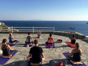 Sunset Meditation Yoga Retreat Mykonos
