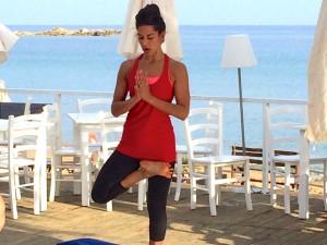 Tania Brown on a luxury yoga retreat in Crete.