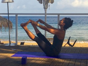 Teacher Tania Brown on a Crete yoga escape.
