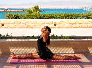 tania brown yoga teacher with yoga escapes