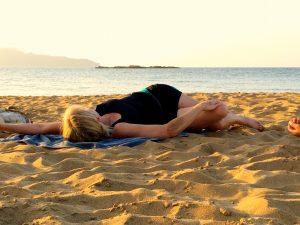 twists on the beach in crete