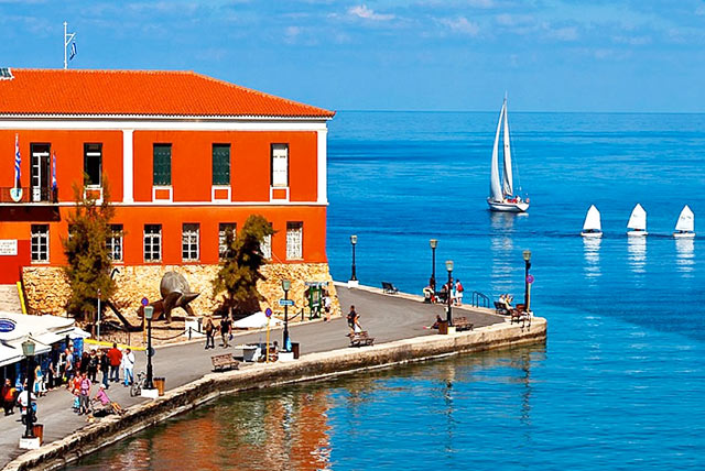 Visit Chania harbour on our luxury yoga retreat