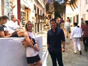 Walking Around Mykonos Town