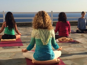 Yin Yoga in Mykonos