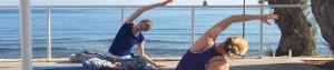 Yoga by the Sea on a Yoga Retreat
