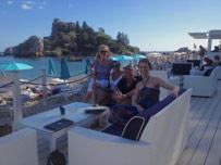 Yoga Escapes group at Yoga Retreat Sicily