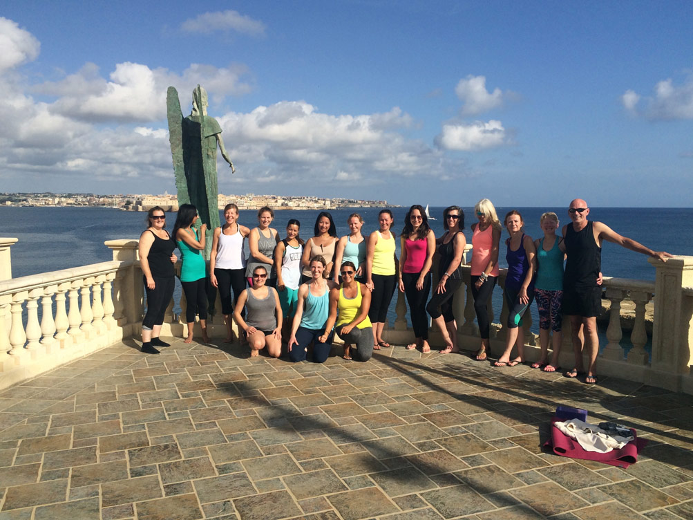 Yoga Escapes group in Italy