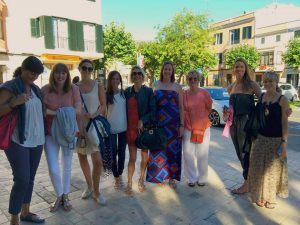 yoga group in ciutadella menorca spain