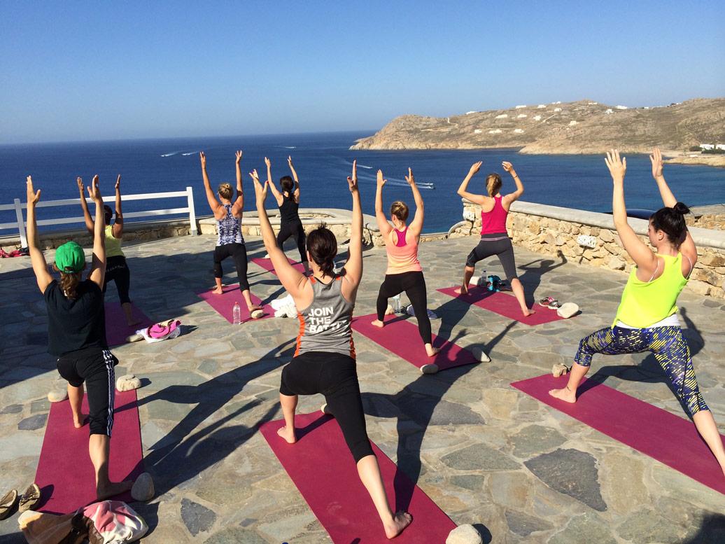 Yoga Mykonos Warrior 1