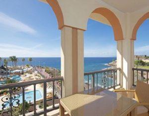 Anthelia seaview rooms on a luxury yoga retreat in Tenerife.