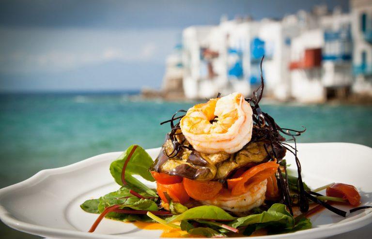 Delicious Greek Cuisine in Mykonos