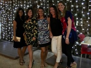 dinner in tenerife at sebastian's with the yoga escapes group