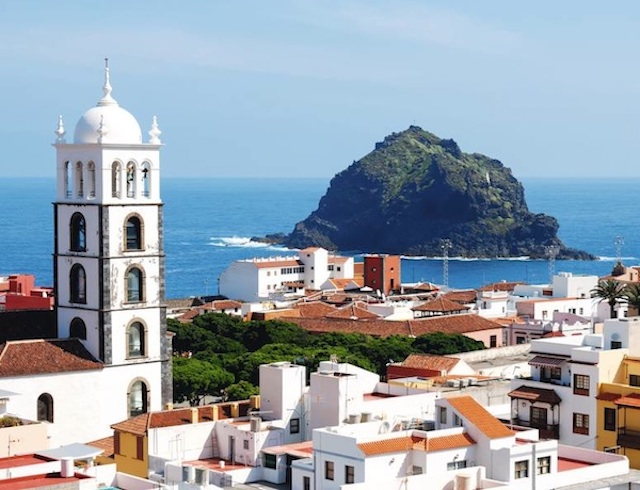 Garachico Tenerife Canary Islands with Yoga Escapes