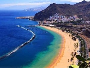 las teresitas beach in tenerife day trip with yoga escapes
