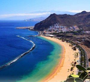 las termitas beach in tenerife canary islands on a yoga retreat with yoga escapes