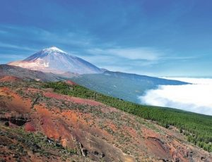 mount teide in tenerife in the canary islands