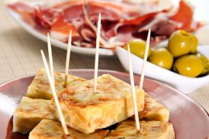 Tapas in Tenerife in the Canary Islands.