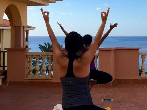 yoga by the sea in tenerife with yoga escapes