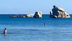 beach in sicily italy with yoga escapes on a luxury yoga retreat