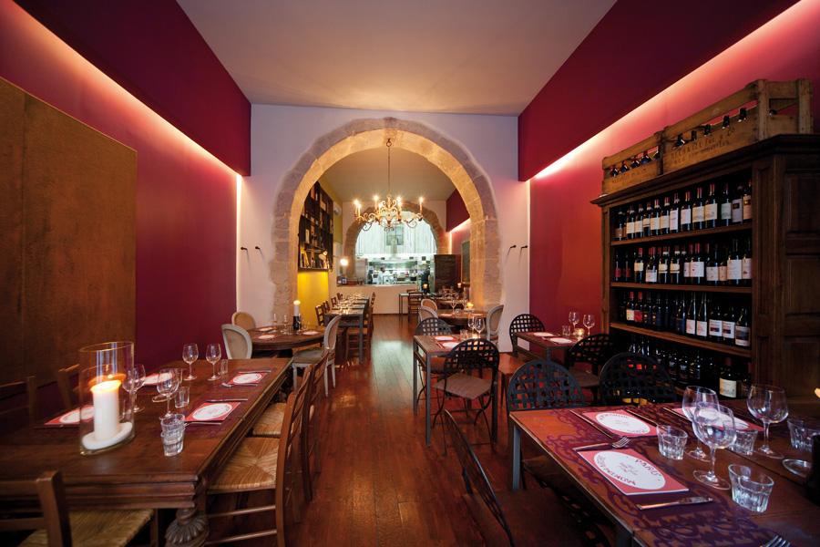 le vin de l'assasin restaurant in siracusa sicily
