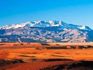 atlas mountains on a yoga retreat in morocco