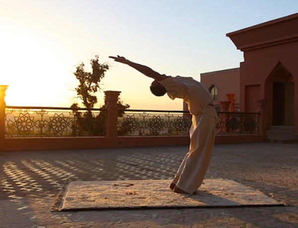 yoga retreat Morocco at Es Saadi Palace in Marrakesh