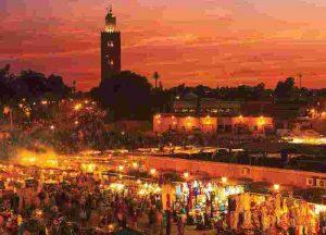 marrakesh morocco main square