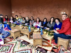 berber dinner yoga group morocco yoga retreat