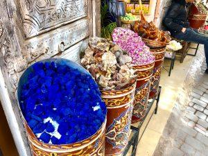 colorful stones souks morocco