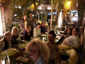dinner morocco yoga retreat