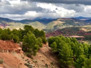 silent meditation walk atlas mountains morocco yoga retreat