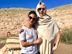 yogis in the morocco desert