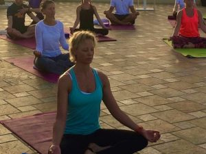 yin yoga class with yoga escapes in lanzarote canary islands