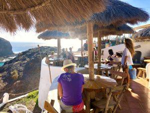 beach bar in lanzarote yoga retreat canary islands