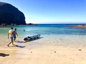 kayaking lanzarote yoga retreat canary islands