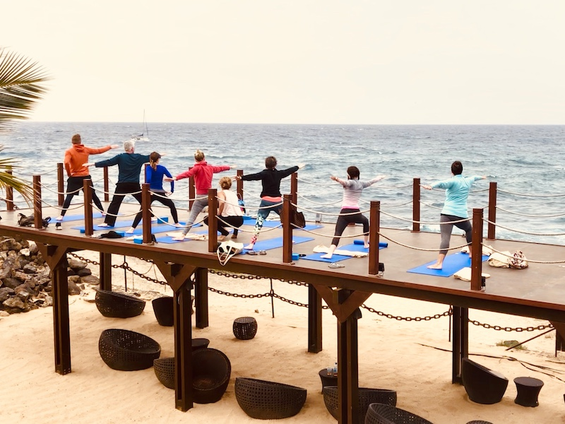 strong warriors in lanzarote yoga retreat canary islands