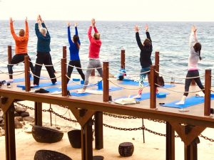 yoga class lanzarote yoga retreat canary islands