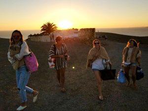 yogis in lanzarote canary islands luxury yoga retreat