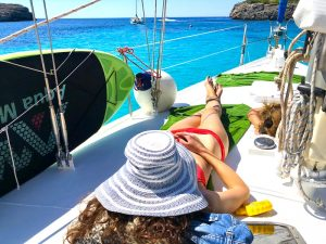 relaxing sailing luxury yoga retreat menorca spain
