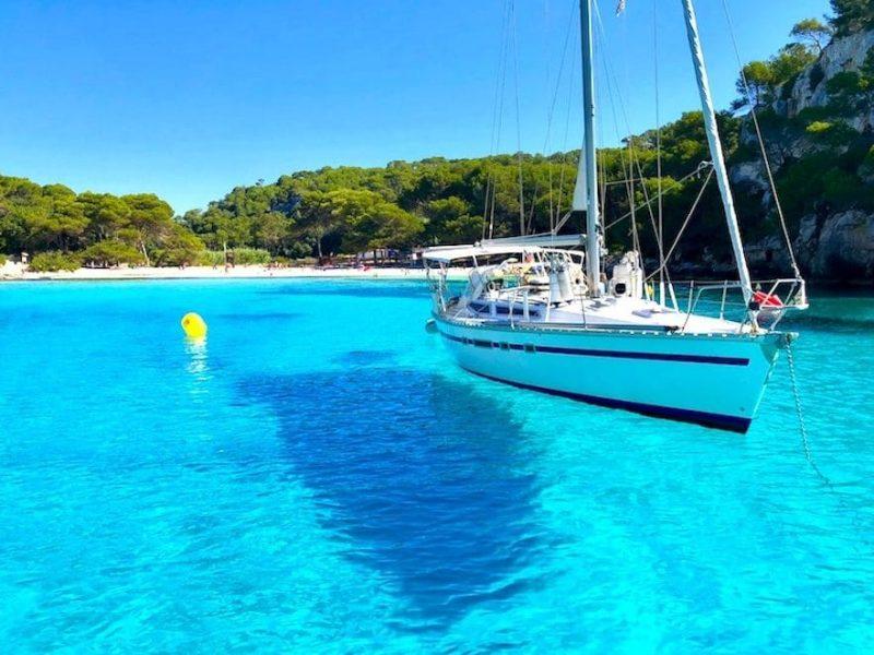 sailing on a luxury yoga retreat menorca spain