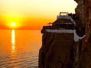 sunset cova yoga retreat menorca spain