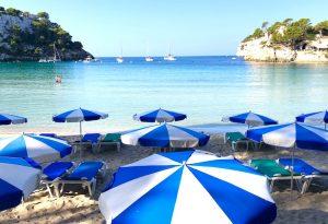 cala galdana beach on a luxury yoga retreat menorca spain