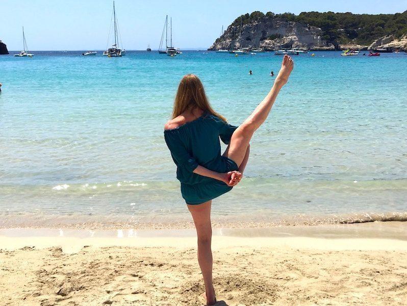 yoga in menorca spain