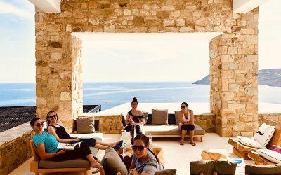 5-star Yoga Retreat: a day in Mykonos Greece