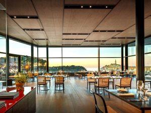 restaurant 5 star grand park hotel yoga retreat Croatia